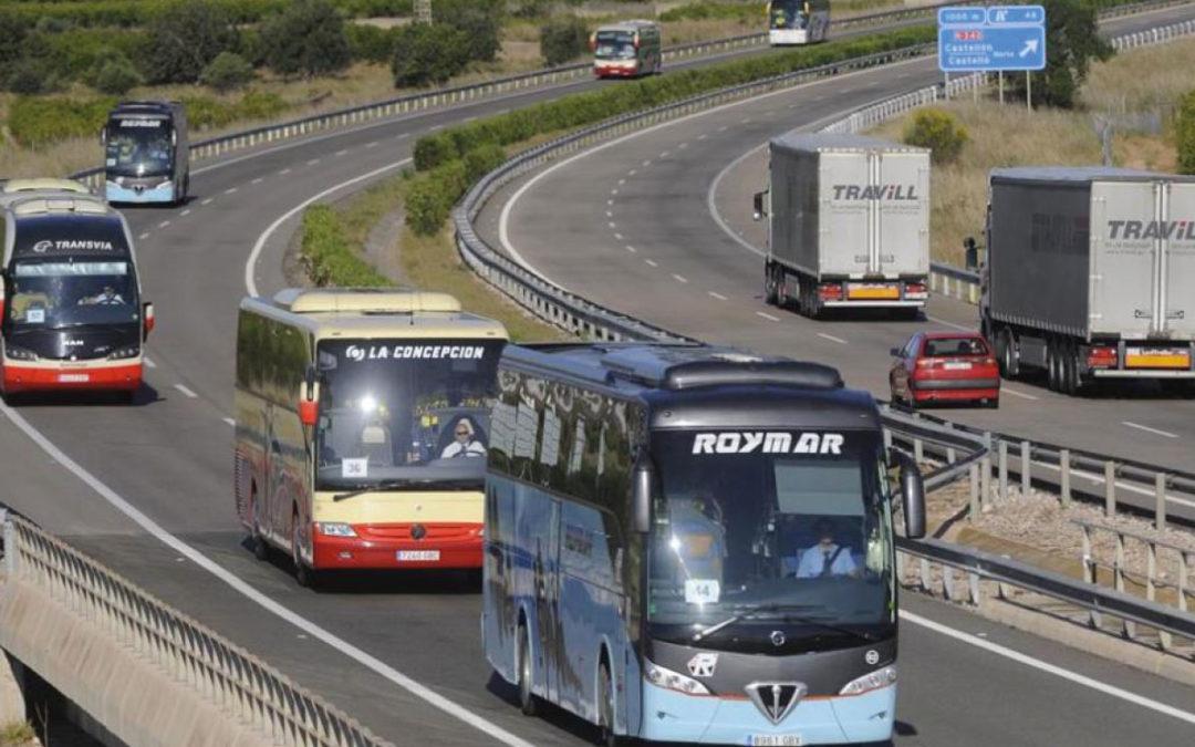 Las matriculaciones de autobuses crecen un 14,8% en julio